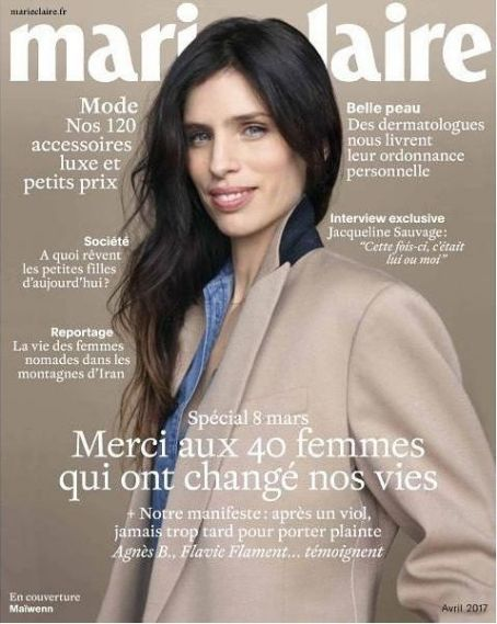 Marie Claire France Magazine April